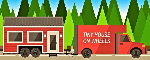 malý dům na kolech
