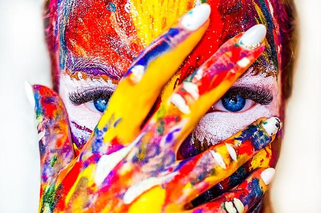 makeup všech barev