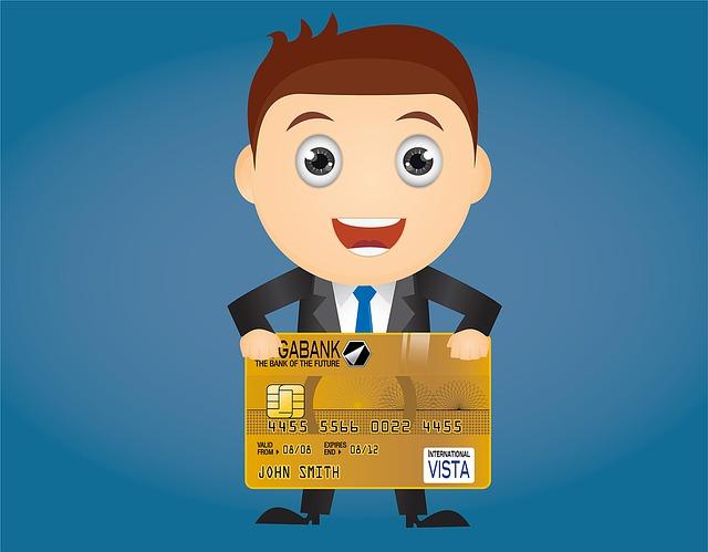 panáček s kreditkou