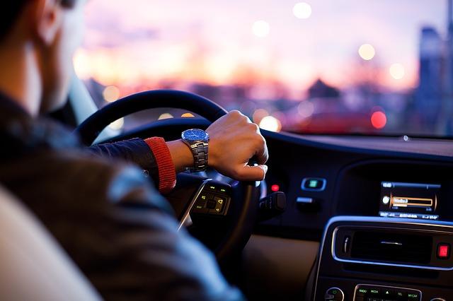 řízení auta