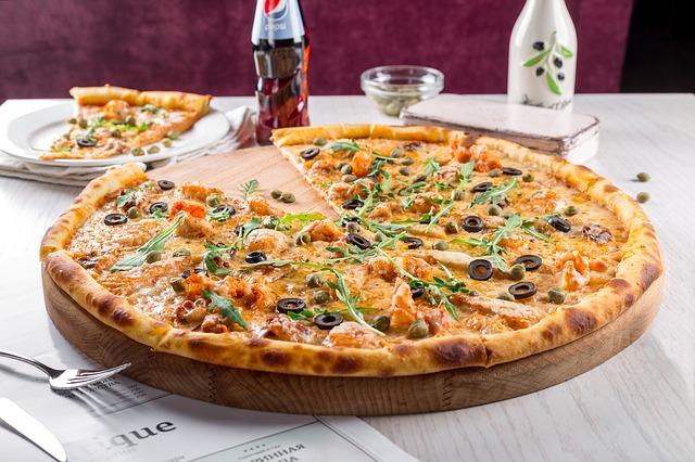 pizza s pepsi